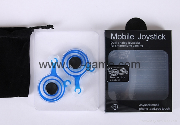 Mini Game Joystick aluminum joysticksfor iPhone iPad Android Tablet games 12