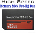 16GB Memory Stick Pro Duo Memory Cards