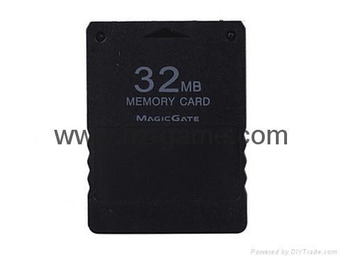 32/64/128 MB存储空间存储卡单元数据棒索尼PS2控制台视频游戏 1