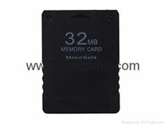 32/64/128 MB存储空间存储卡单元数据棒索尼PS2控制台视频游戏