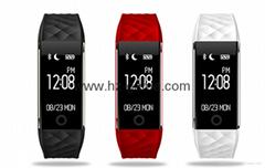 new smart bracelet S2 heart rate step Bluetooth watch bracelet waterproof