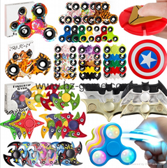 direct sales bright sunflower fingertips gyro aluminum colorful decorative toys