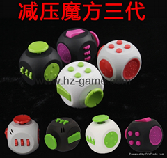 new Three generation Fitget Cube collar workers ease pressure artifact dice (Hot Product - 1*)