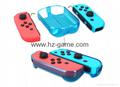 新品Nintendo switch游戏机手柄水晶盒 switch手柄水晶壳