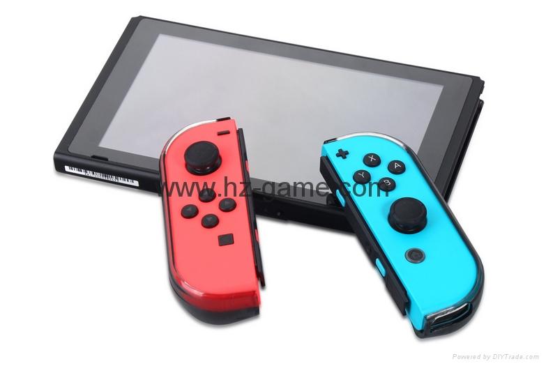 新品Nintendo switch遊戲機手柄水晶盒 switch手柄水晶殼 10