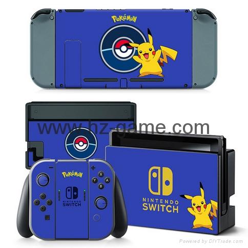 新品Nintendo switch遊戲機手柄水晶盒 switch手柄水晶殼 13