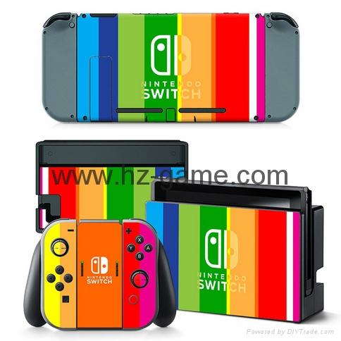新品Nintendo switch遊戲機手柄水晶盒 switch手柄水晶殼 18