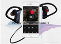 new U12 Bluetooth headset ear hanging waterproof noise reduction headphones