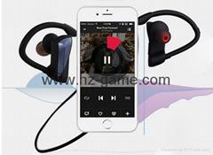 新款U12藍牙耳機 廠家直銷挂耳式防水降噪運動藍牙耳機 爆款