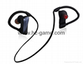 2017 new U12 Bluetooth headset ear hanging waterproof noise reduction headphones