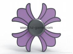 Crown Dispensing Luminous  toy Creative EDC Toys Finger Spiral New