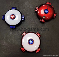 Creative blog fill light fingertips gyro round flying saucer decompression toys