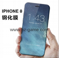 IPhone8 tempered glass film 4D surface