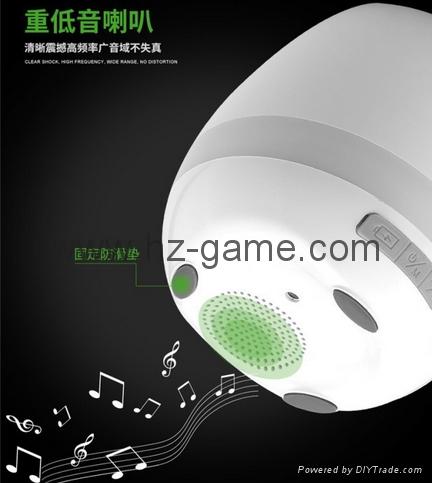 New Bluetooth speakersLED Night Light Music Flowerpot Touch Plant Piano 11