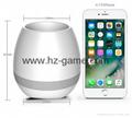 New Bluetooth speakersLED Night Light Music Flowerpot Touch Plant Piano 12