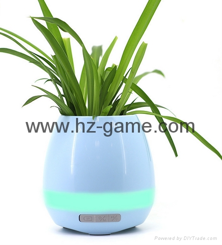 New Bluetooth speakers intelligent music pots inductive creative gifts 17