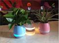 新品藍牙音箱智能音樂花盆感應創意禮品室內綠色盆栽工廠直銷 20