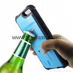 新款蘋果iPhone567系列多功能充電點煙開瓶器手機殼背夾保護