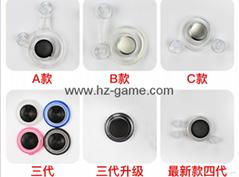 鋁合金吸盤式手機搖桿 拳皇手機遊戲搖桿 適用安卓IOS遊戲搖桿