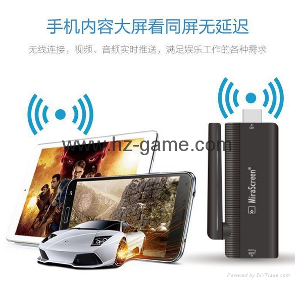 Google push treasure Apple Andrews TV HD line wifi co-screen device hdmi dongle 15