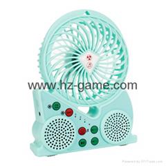 new multi-function Bluetooth MINI speaker fanUSB mini-smart music fan