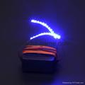 Luminous Glowing Flashing Eye Lashes LED Light Nightclub Party Club Eyelashes