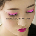 Luminous Glowing Flashing Eye Lashes LED Light Nightclub Party Club Eyelashes 8