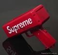 Money Gun Supreme Cash Cannon Christmas Red Funny Pistol Toy