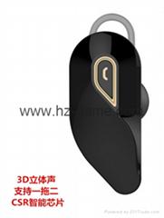 新款藍牙耳機 商務迷你藍牙耳機 單邊立體聲藍牙耳機
