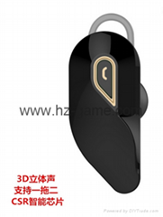 New Business Mini Bluetooth Headset Unilateral Stereo Bluetooth Headset