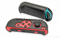 Wheels Game Console Grips Case For Nintendo Switch Joy-con Cases Black Stand