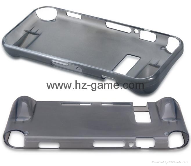 任天堂SWITCH主机硅胶保护套 NS主机蓝光高清膜NX游戏机2合一装 12