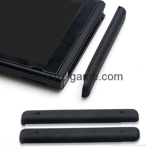 現貨Nintendo Switch鋼化膜套裝NS防塵塞套裝 Switch藍光高清膜 14