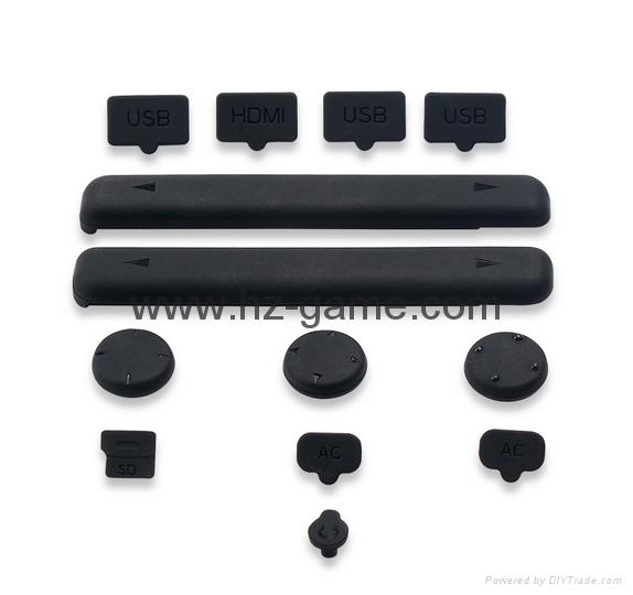 現貨Nintendo Switch鋼化膜套裝NS防塵塞套裝 Switch藍光高清膜 13