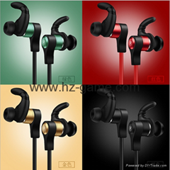 New Bluetooth headset version of the stereo bass headset factory