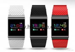 2017新款智能 X9 pro蓝牙触摸彩屏心率血压监测防水运动手环