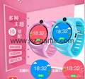 New round screen touch camera flashlight child positioning smart phone watch