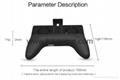 Mobile Phone Game Controller Joystick Grip Game Holder Handle With Bracket 2