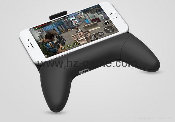 Mobile Phone Game Controller Joystick Grip Game Holder Handle With Bracket 5