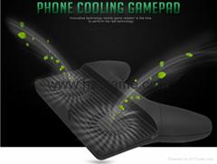 Mobile Phone Game Controller Joystick Grip Game Holder Handle With Bracket