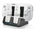 Factory direct sales of new WII U two-in-one charger game peripheral accessories