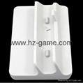 廠家直銷新款WII U 二合一座充 遊戲機週邊配件 3
