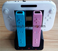 Controller Charging Dual Slots Dock Charger Cradle Station Battery forWii Game 7