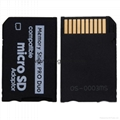 psp memory stick card sets TF to MS