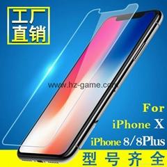 iPhone8 tempered film screen tempered glass film iphoneX phone film