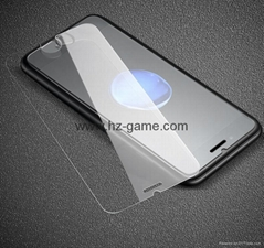 iPhone8鋼化膜蘋果7碳纖維全屏鋼化玻璃膜iphoneX手機鋼化膜