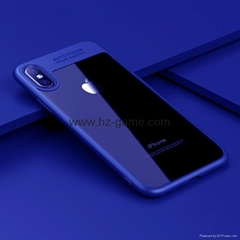 iphonex手機殼新款蘋果x手機殼iphone8保護套i8硅膠透明TPU三星S8