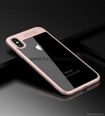新款蘋果X手機殼iphone8保護套i8軟硬硅膠防摔透明TPU