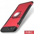 iPhone8shell creative ring car all-inclusive iphone 7 case iPhoneX new