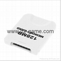 For Nintendo WII Console WII Memory Card 16MB 251mb Blocks Game Memory Card  3